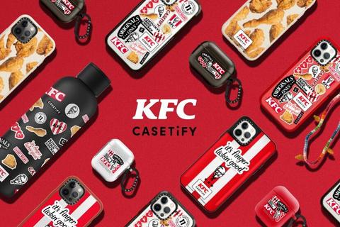 「KFC×CASETiFYコレクション」 8月26日(木)発売!